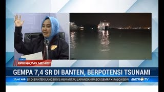 (Full) Konpers Kepala BMKG Gempa Banten 7,4 SR