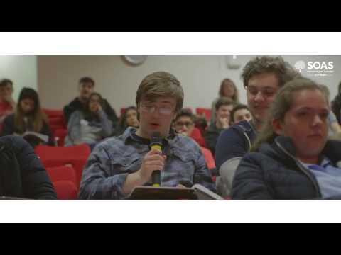 Your World, Your Voice Debates, SOAS University of London