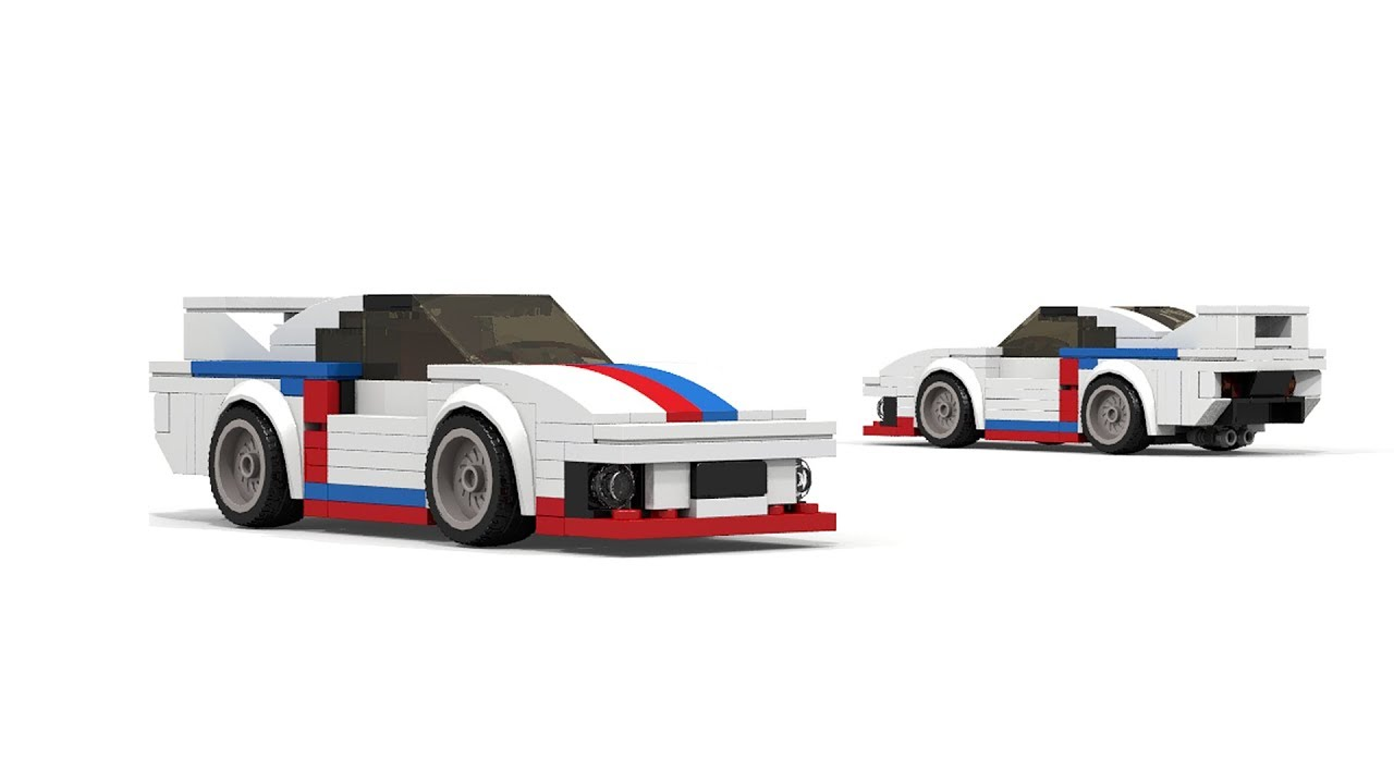 lego speed champions porsche 935 moc tutorial youtube. Black Bedroom Furniture Sets. Home Design Ideas