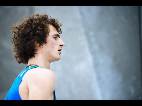 ADAM ONDRA Boulder 4 Semi-Final IFSC Climbing World Cup Munich 2015 - Bouldering