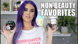 Non Beauty Favorites | Nicole Guerriero