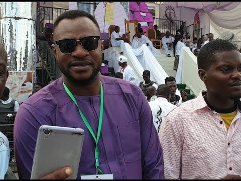 Odunlade Adekola Storms Ooni of Ife Palace+See What The idol worshipers Wore &Carry On Their Heads