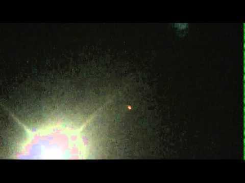 An unidentified flying object June 2012