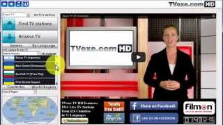 TVexe TV HD Quick Tutorial