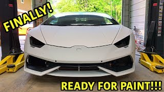 Download Rebuilding A Wrecked Lamborghini Huracan Part 17 Mp3 and Videos