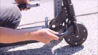How to lock an EcoReco e-scooter
