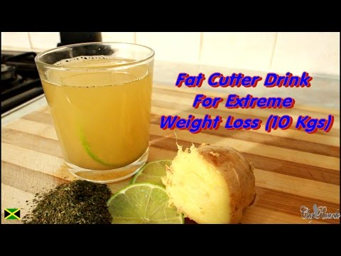 Fat Cutter Drink With Green Tea, Honey, Ginger And Lime. | Recipes By Chef Ricardo