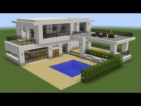 Download Youtube: Minecraft - How to build a modern house 5