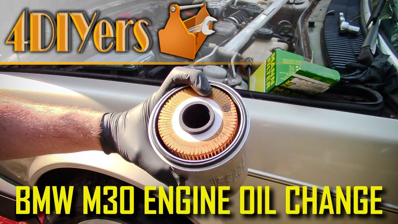 diy bmw m30 engine oil replacement youtubediy bmw m30 engine oil replacement