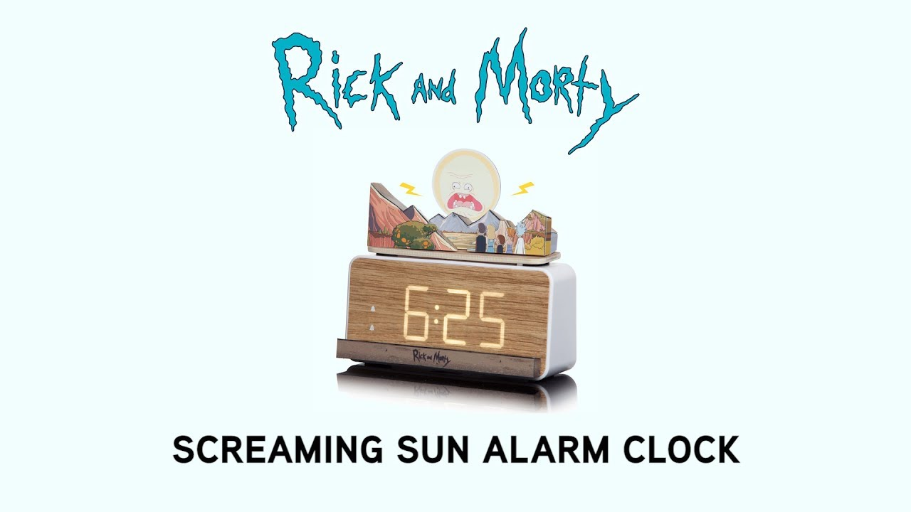 We Wish This Rick and Morty Screaming Sun Alarm Was Real