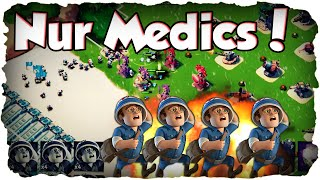 Nur Sanitäter / Medics! | BOOM BEACH | Fun Challenge! (Deutsch / German)