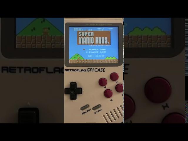 Vidéo Super Mario Bros sur la Retro Gameboy de www.2players.shop