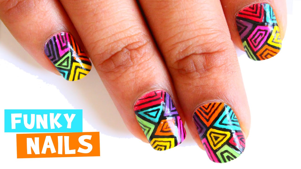 Funky Nail Ideas 2015 ~ the best inspiration for design and color of ...