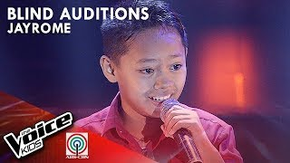 Jay Rome Sevillejo - Nasa Puso | Blind Auditions | The Voice Kids Philippines Season 4