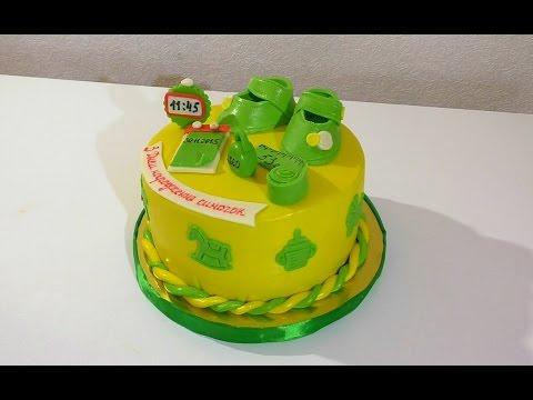 Торт на годик для мальчика Торты для детей  Cake for a year for a boy