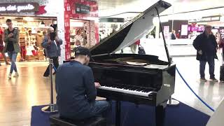 Blues and boogie woogie 2-piano airport-Roma