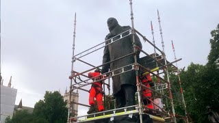 video: Crackdown coming on statue vandalism that has caused so much disgust, pledges Justice Secretary