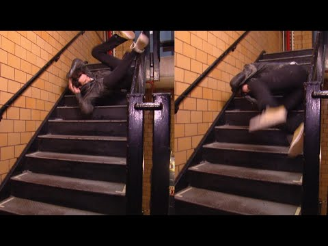 How to Avoid Falling Down Stairs