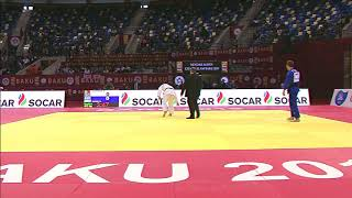 Disqualification due to Cellphone on Tatami #JudoBaku