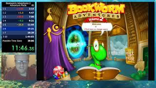 Bookworm Adventures Volume 2 (PC) Adventure Mode in 1:41:23
