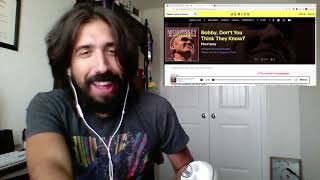 Morrissey - Bobby, Don't You Think They Know? [REACTION]