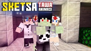 TERTIPU! Sketsa tawa 4Brother Ft.Anited (Animasi Minecraft Indonesia)