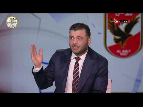 شوبير لـ عماد متعب .. نقدر نقول دلوقتي محمد شريف أصبح خليفتك في الملاعب؟ ومتعب يرد: الشرف ليا