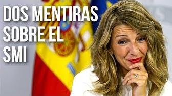 Imagen del video: Rallo: Dos mentiras de Yolanda Díaz sobre el salario mínimo
