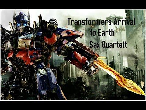 Transformers Arrival to Earth Sax Quartett