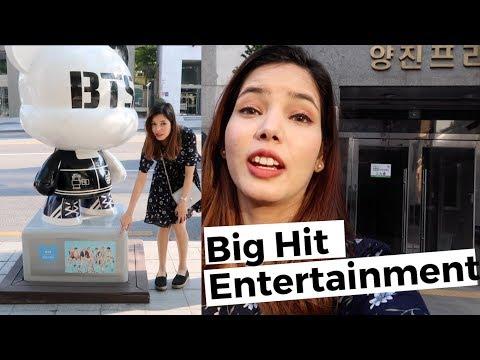 BIGHIT Entertainment New Buildings Visit with Twist😄 Mp3