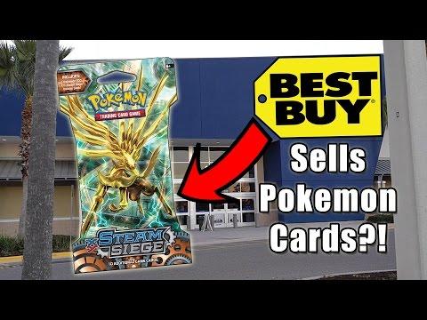 BEST BUY SELLS POKEMON CARDS??