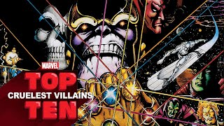 Top 10 Cruelest Villains | Marvel Top 10