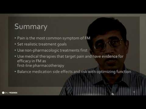 Fibromyalgia with Dr Dharmanand