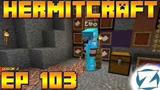 Minecraft Hermitcraft Vanilla - S3E103 - ABBA Caving vs Etho