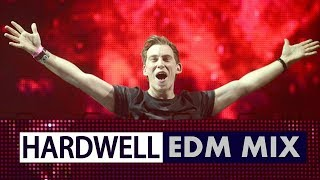 Electro House Festival EDM Mix 2018 - Hardwell x Friends Music