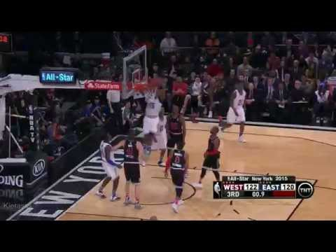 2015 NBA All Star Game Best Plays (Full Highlights)