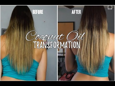 Coconut Oil Transformation | Hair Growth After 3 Months