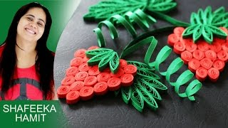 How to make 3D greeting cards Paper quilling