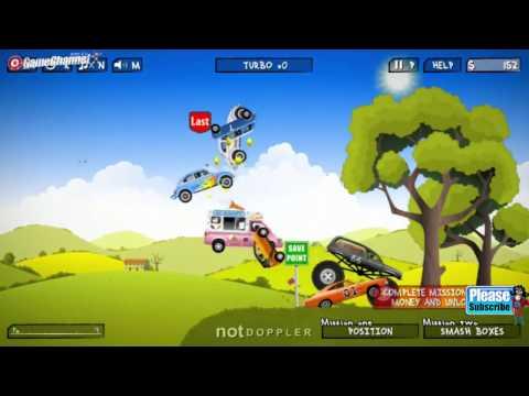 Renegade Racing Games / Car Games / 4x4 Monster Truck Games / Videos Games for Children