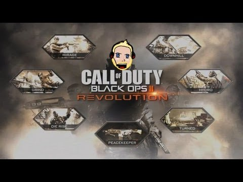 CoD Black Ops 2 Revolution DLC Multiplayer [HD+] Deutsch/German Gameplay - Alle neuen Maps
