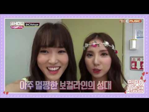 GFRIEND 여자친구 - Eunha and her pretty Yuju