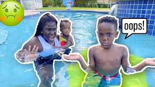 Siah Ruined Our Brand New Pool…