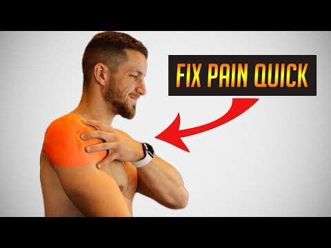 How To Fix Shoulder Pain/Impingement! (5 Easy Steps)