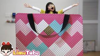 가방이 커졌어요 파체리에 가방 만들기 | 재밌는 영상 LimeTube toy review