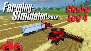 Farming Simulator 2013: Chore Log 4 - Harvest time!(In this episode it was time to harvest all of those crops. We're starting to run low on funds after my shopping spree so the crops came in at a good time. Thanks ..., 2013-11-08T03:53:13.000Z)