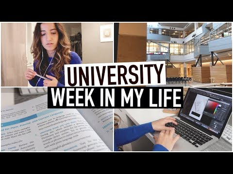 UNIVERSITY WEEK IN MY LIFE | business student + toronto