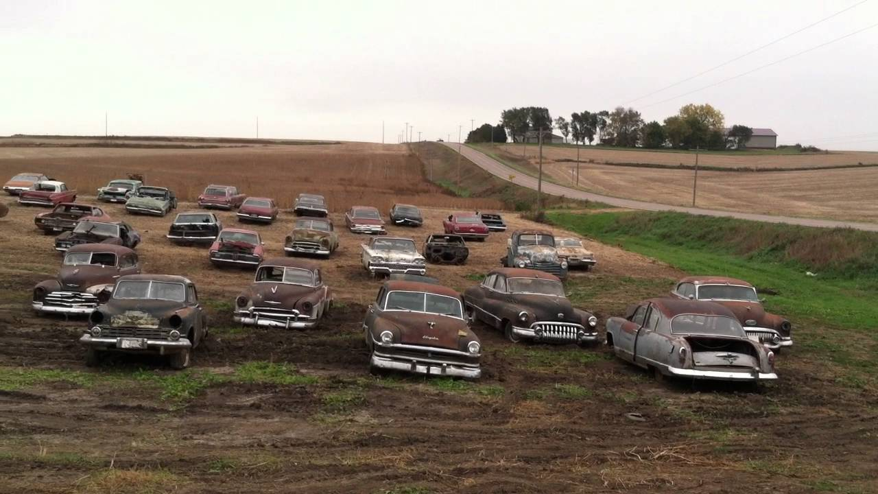 Girard Auction offers old cars, trucks for auction at Kellen farm ...