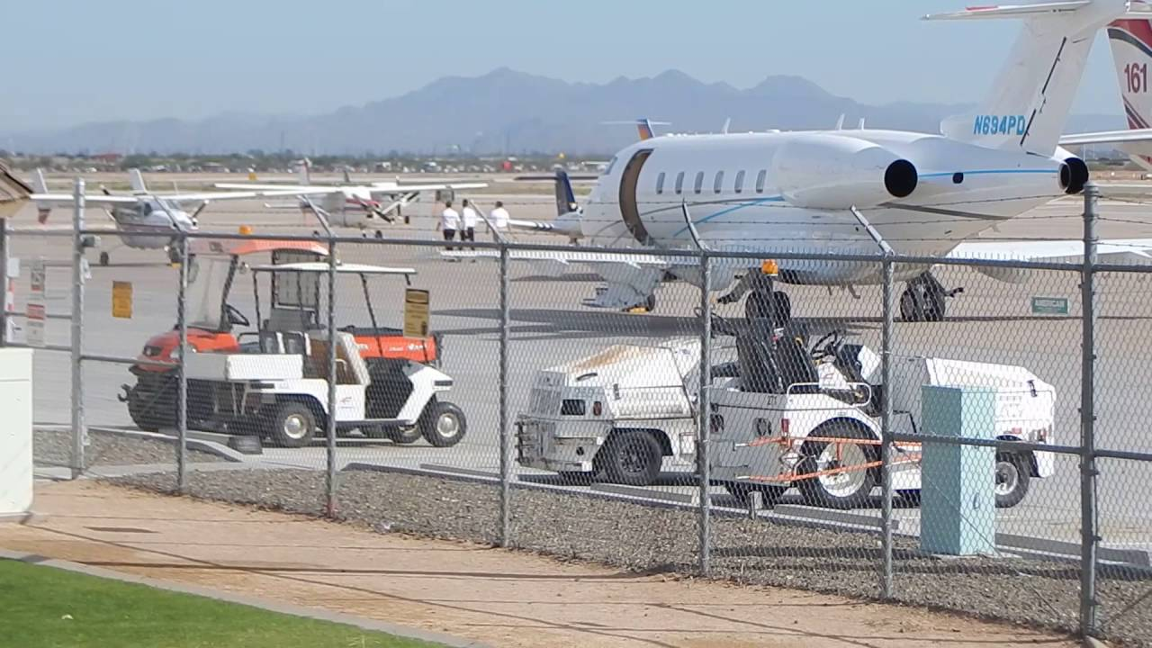 AWSOME Plane Spotting  Phoenix  Mesa Gateway Airport