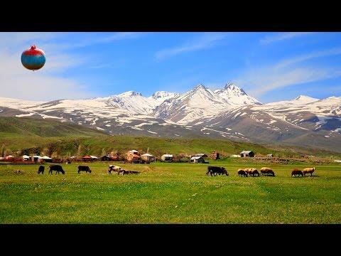 Арагац – самая высокая гора в Армении