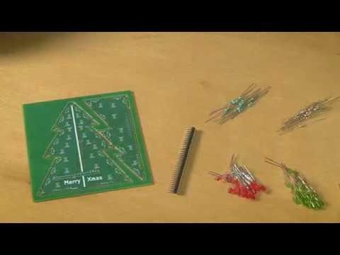Blinkender arduino weihnachtsbaum bausatz mit allen bauteilen inkl netzteil und uno r3 youtube - Blinkender weihnachtsbaum ...